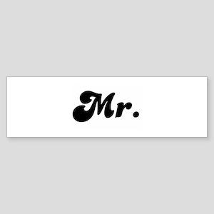 Mr. Bumper Sticker