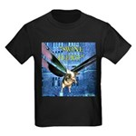 Swine Flew Kids Dark T-Shirt