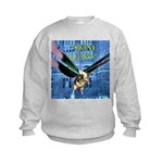Swine Flew Kids Sweatshirt