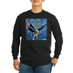 Swine Flew Long Sleeve Dark T-Shirt