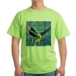 Swine Flew Green T-Shirt