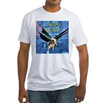 Swine Flew Fitted T-Shirt