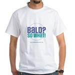 Bald So What White T-Shirt