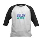 Bald So What Kids Baseball Jersey