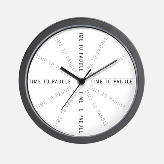 Paddler Gear Wall Clock