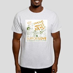 Straight Against Hate Light T-Shirt