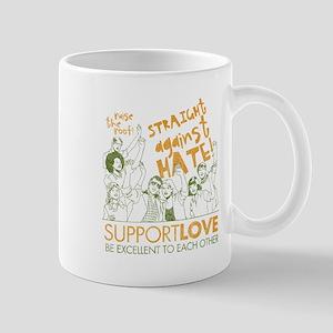 Straight Against Hate Mug