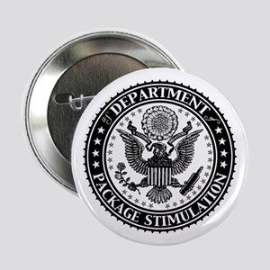 "Dept of Package Stimulation 2.25"" Button"