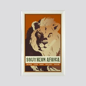Southern Africa Rectangle Magnet