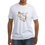 Pork-Que? Fitted T-Shirt
