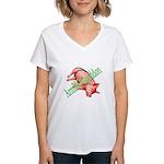 ArmHOGgedon Women's V-Neck T-Shirt