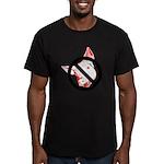 StopSwine Men's Fitted T-Shirt (dark)
