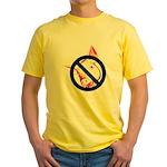 StopSwine Yellow T-Shirt