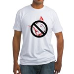 StopSwine Fitted T-Shirt