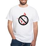 StopSwine White T-Shirt