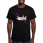 PigPendemic Men's Fitted T-Shirt (dark)