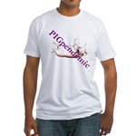 PigPendemic Fitted T-Shirt