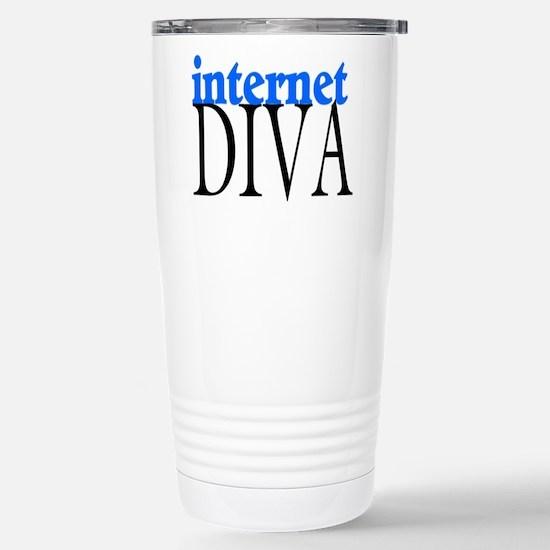 Internet Diva Stainless Steel Travel Mug