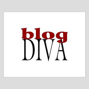 Blog Diva Small Poster