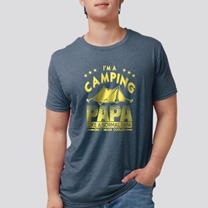 I'm A Camping Papa Like A Normal Papa Only T-Shirt