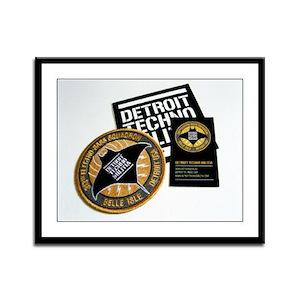 Detroit Techno Militia Framed Panel Print