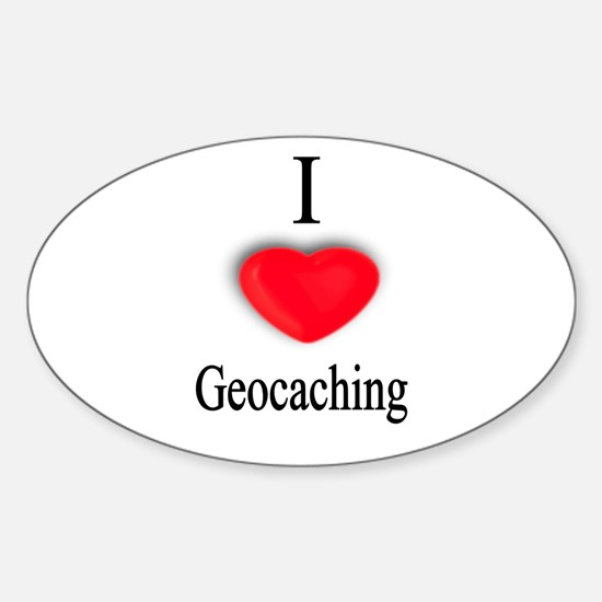 Geocaching Oval Decal