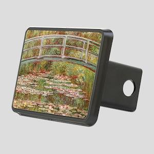 Monet's Japanese Bridg Rectangular Hitch Cover