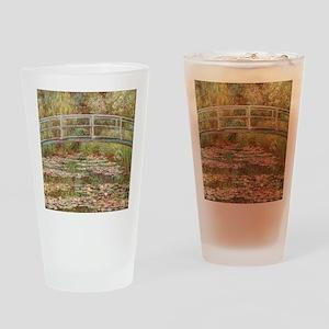 Monet's Japanese Bridge and Wat Drinking Glass