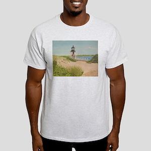Brandt Point Lighthouse - Nantucket T-Shirt