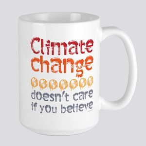 Climate change doesn't Stainless Steel Travel Mugs