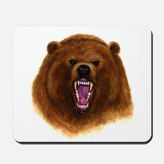 bear drawing Mousepad