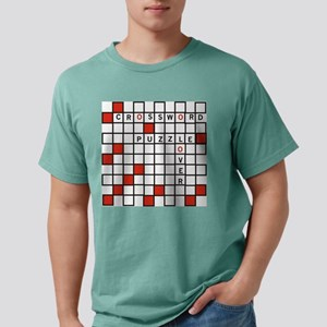 Red Crossword Puzzle T-Shirt