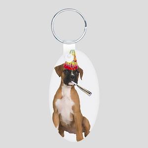 Boxer Birthday Keychains