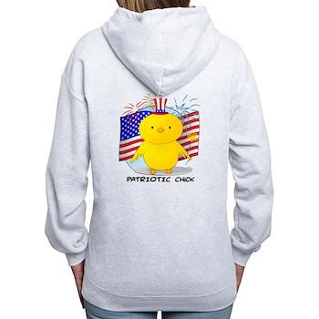 Patriotic Chick Women's Zip Hoodie