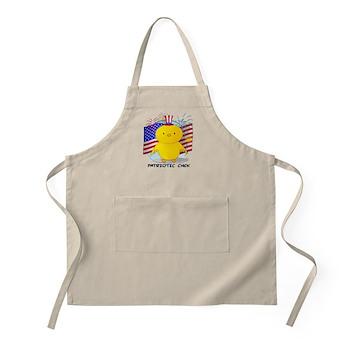 Patriotic Chick BBQ Apron