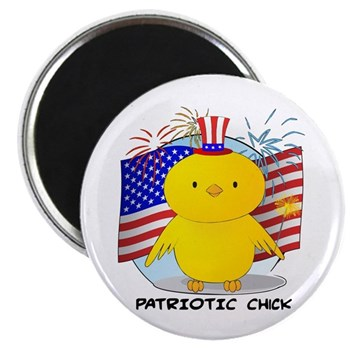 Patriotic Chick 2.25