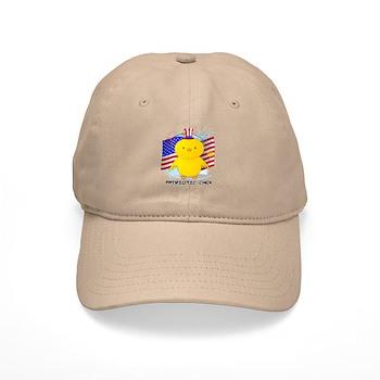 Patriotic Chick Cap