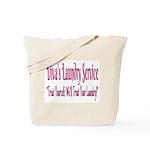 Diva's Laundry Service Logo 4 Tote Bag