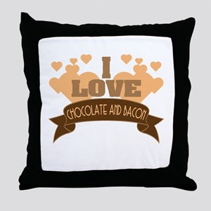 Best combination ever in one tee! Gra Throw Pillow