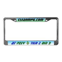 CleanMPG License Frame - ATPZEV T2B3