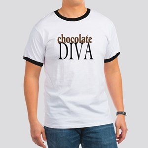 Chocolate Diva Ringer T