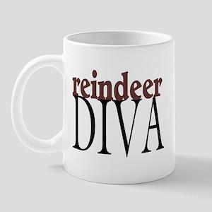 Reindeer Diva Mug