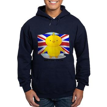 British Chick Hoodie (dark)