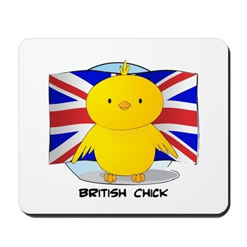 British Chick Mousepad