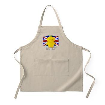 British Chick BBQ Apron