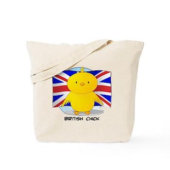 British Chick Tote Bag