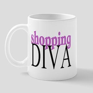 Shopping Diva Mug