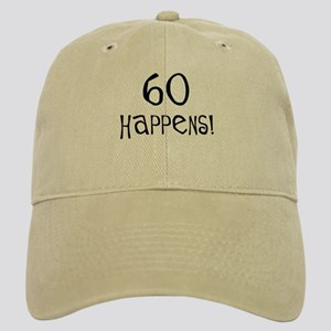 60th birthday gifts 60 happens Cap