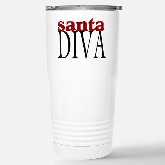 Santa Diva Stainless Steel Travel Mug