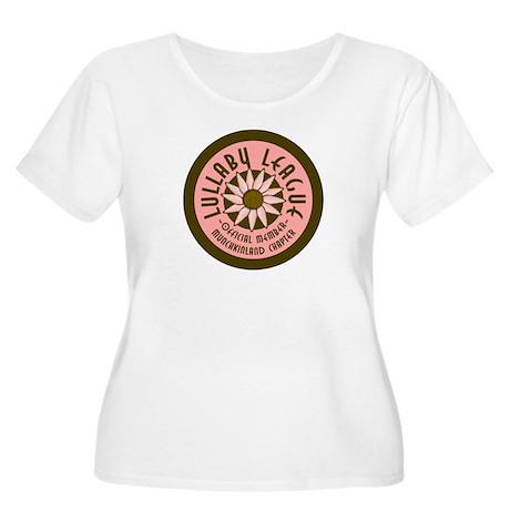 Munchkin Women's Plus Size Scoop Neck T-Shirt